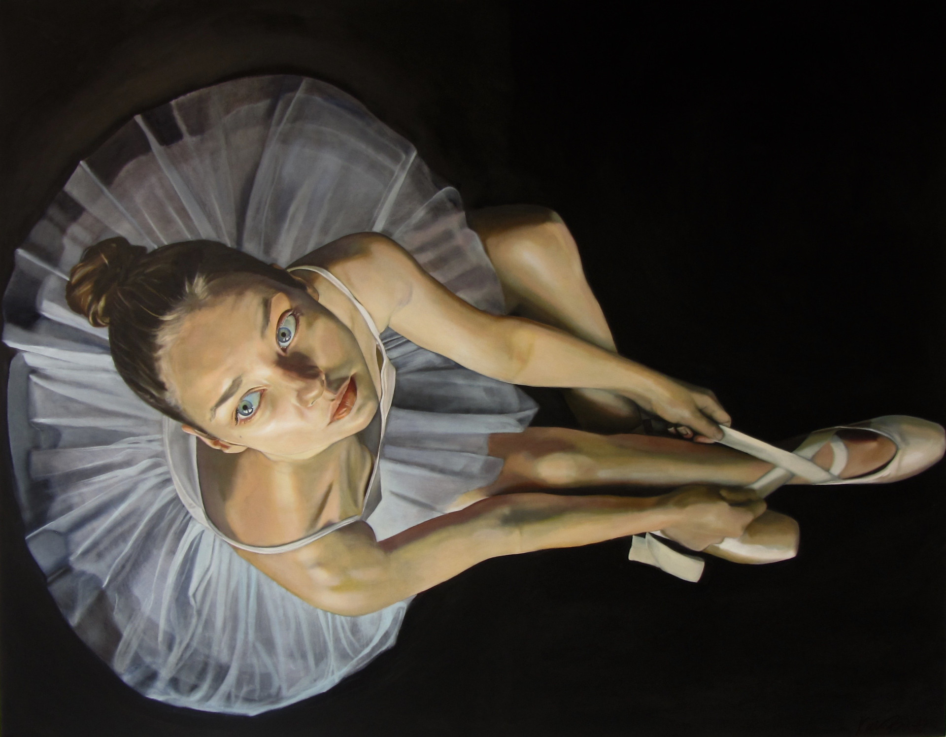 """Ali"" oil on canvas 153 x 122 cm 2015"