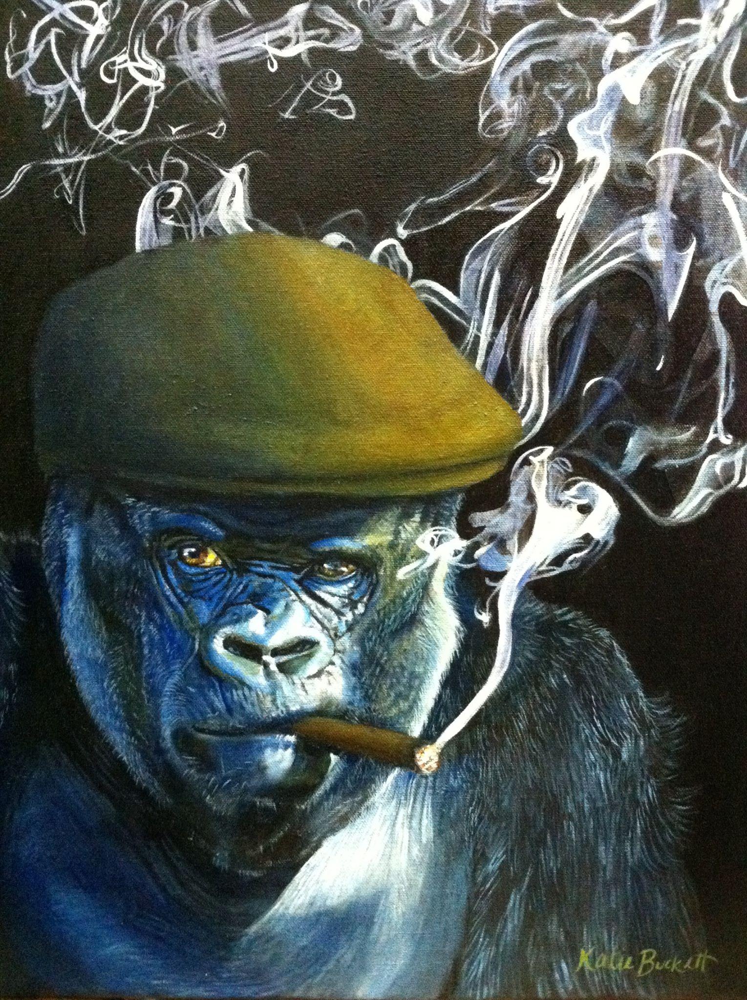 'Silverback Smoking' (The Welder II)