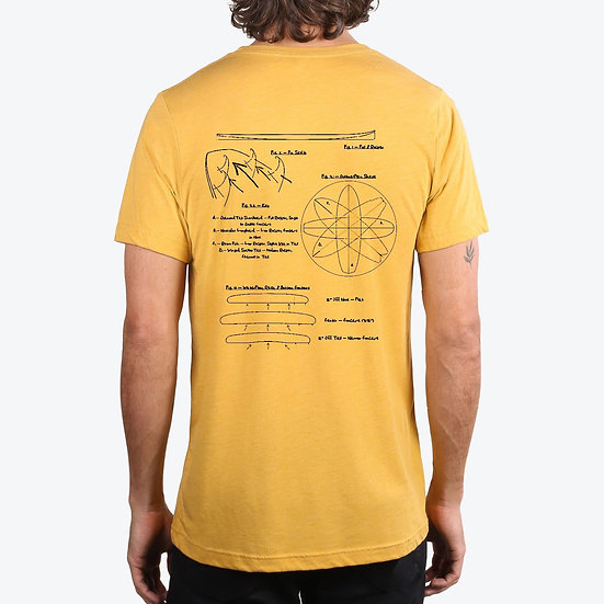 Original Lay-Out Tee - Mustard