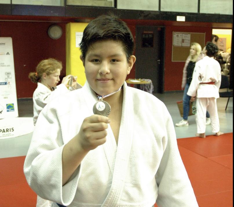 Adrien, 2e Champ. Paris minines