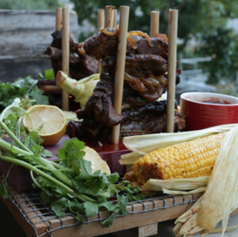SLOW-COOKED PORK RIBS