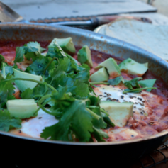 MEXICAN-STYLE POACHED EGGS