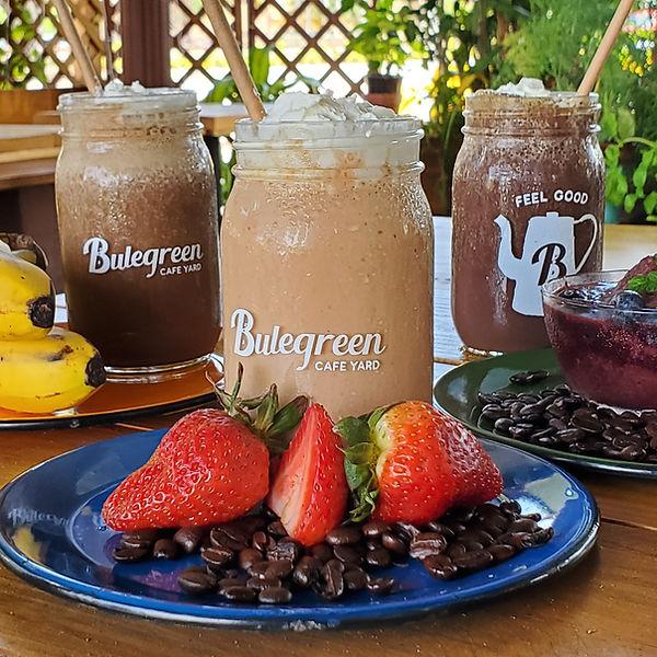 coffee fruit smoothie