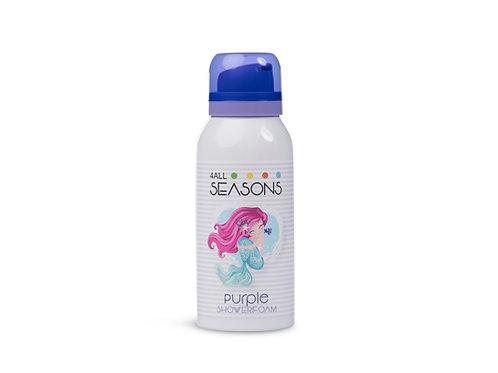 4 All Seasons Shower Foam Purple Mermaid