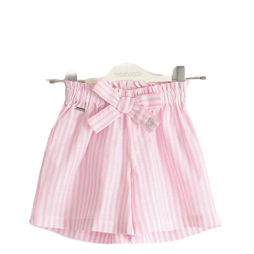 iDo Short Pink Stripes