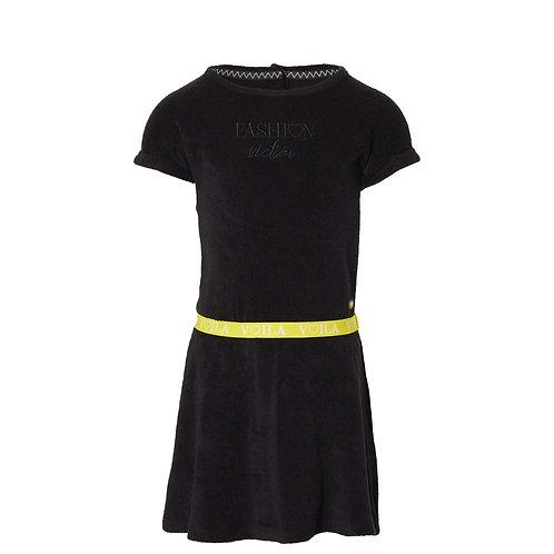 Quapi Famke Dress Black