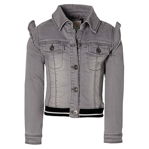 Quapi Fieke Denim Vest Grey
