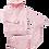 Thumbnail: Jogging Roze Wit Afgelijnd
