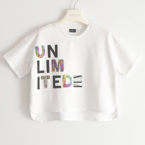 Sarabanda T-Shirt White Unlimited Fun