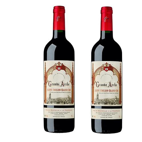 2 Vins rouges 75cl
