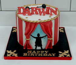 The Greatest Showman Birthday Cake