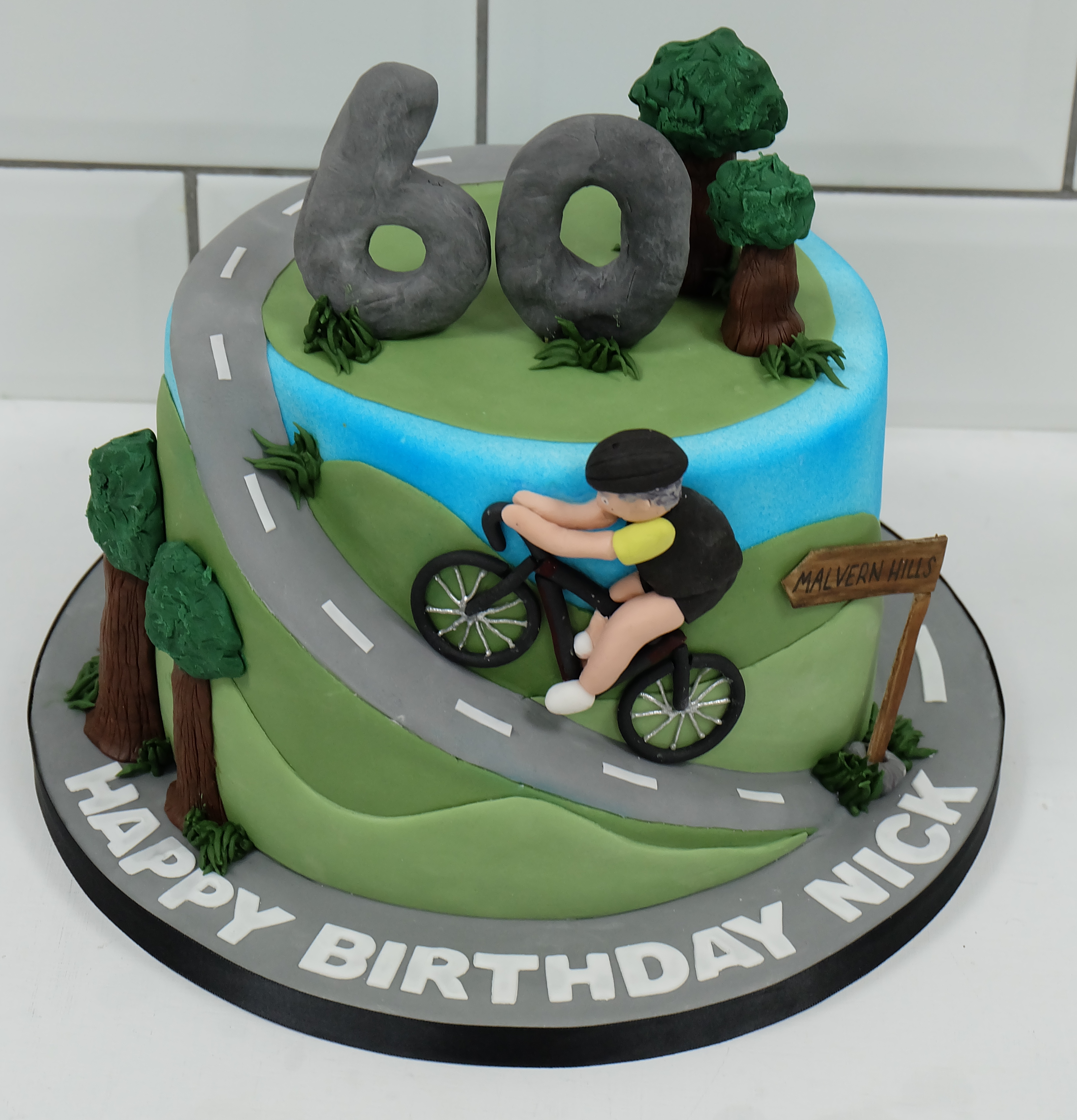 Cycling Birthday Cake