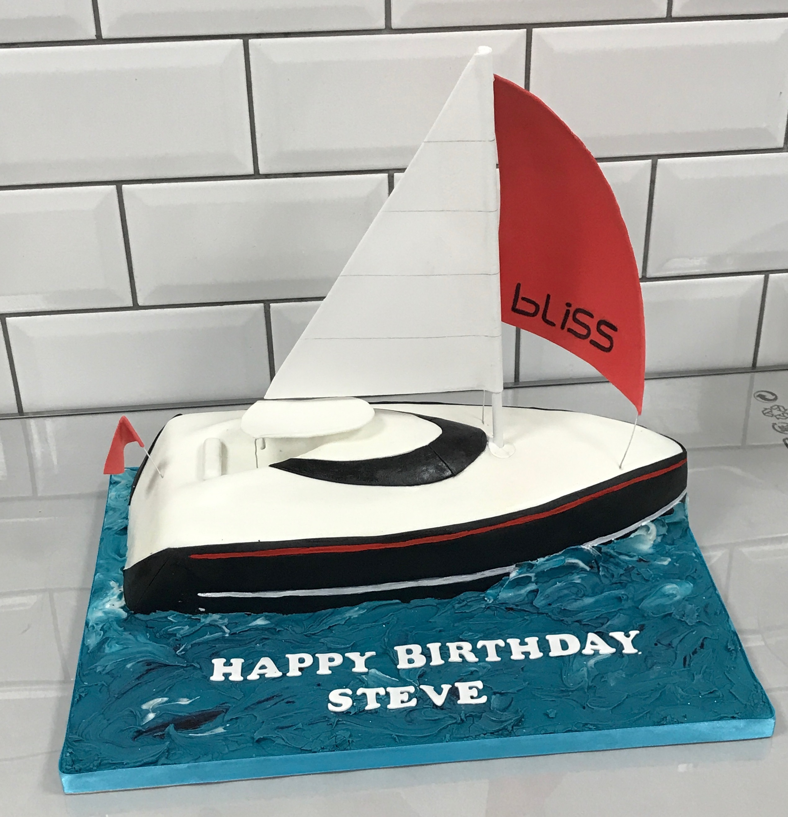 Yacht Birthday Cake 2