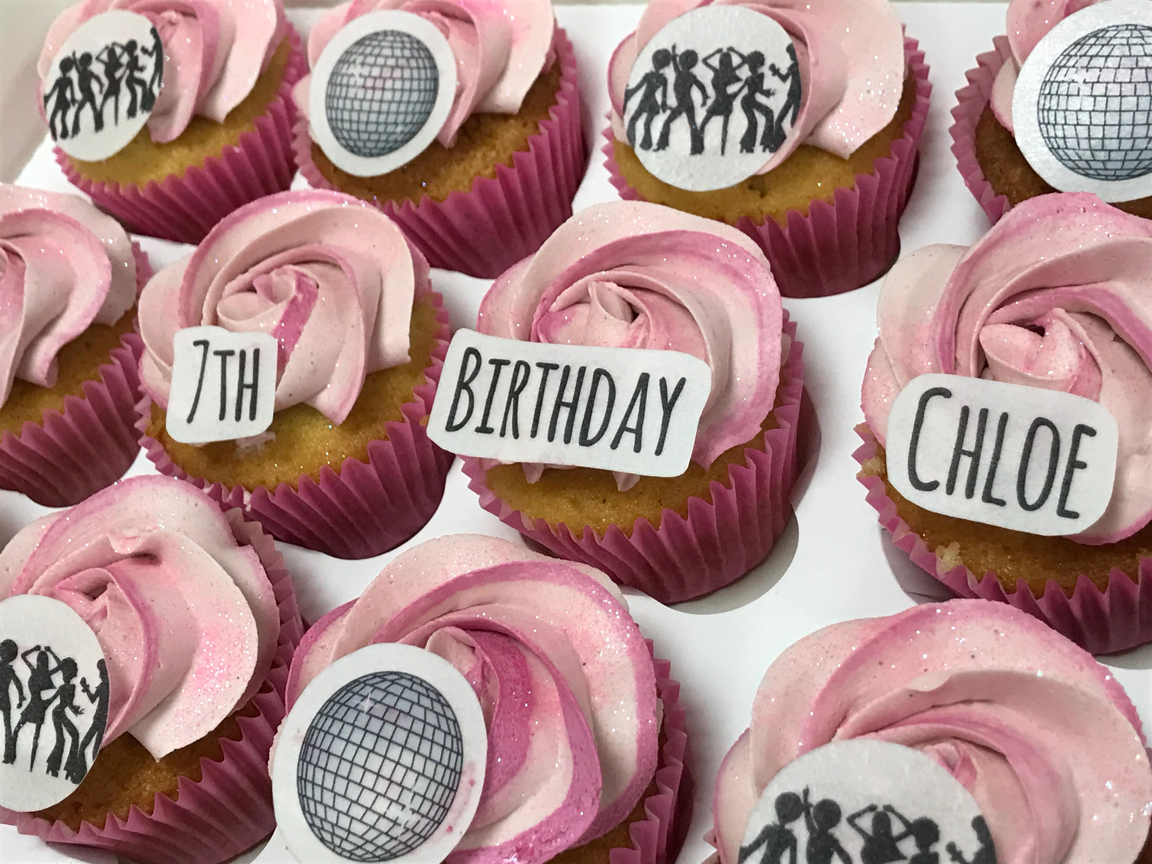Disco Cupcakes 3