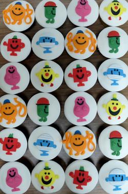Mr Men Cupcakes  4