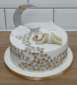 Twinkle Little Star Baby Cake