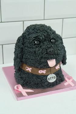 Labradoodle Dog Cake 3