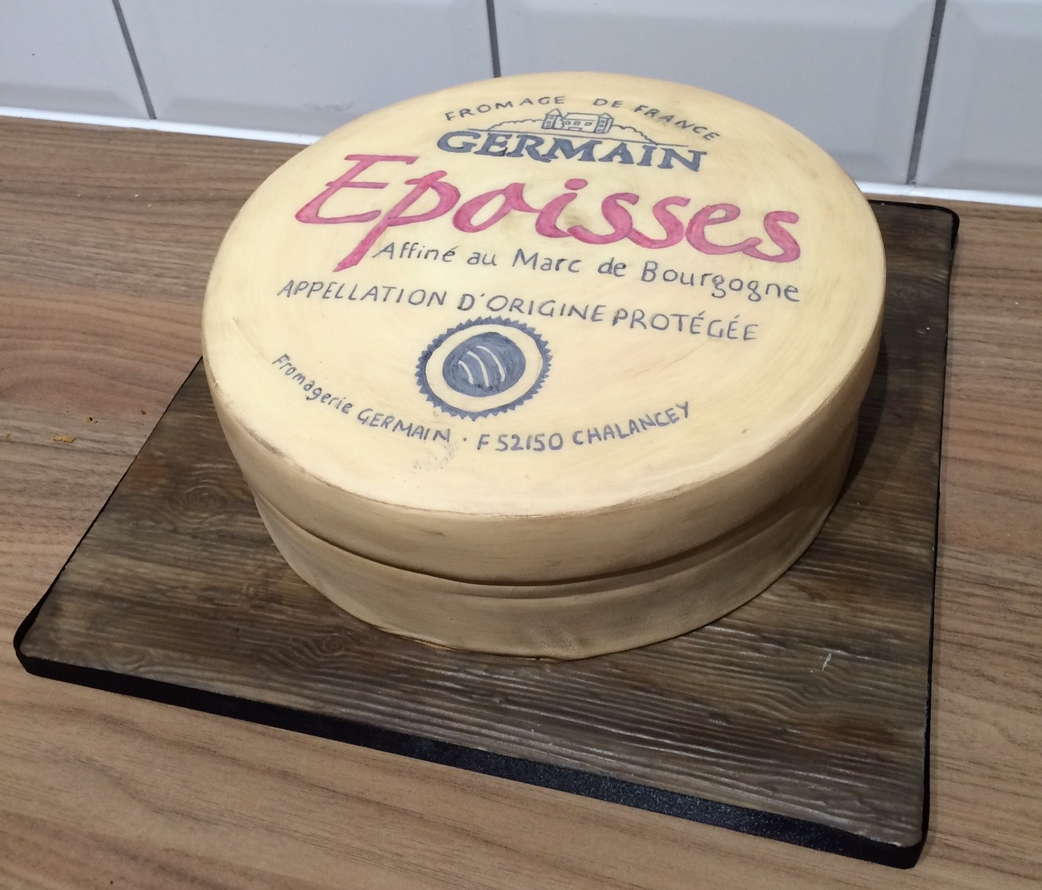 Epoisses Cheese Birthday Cake