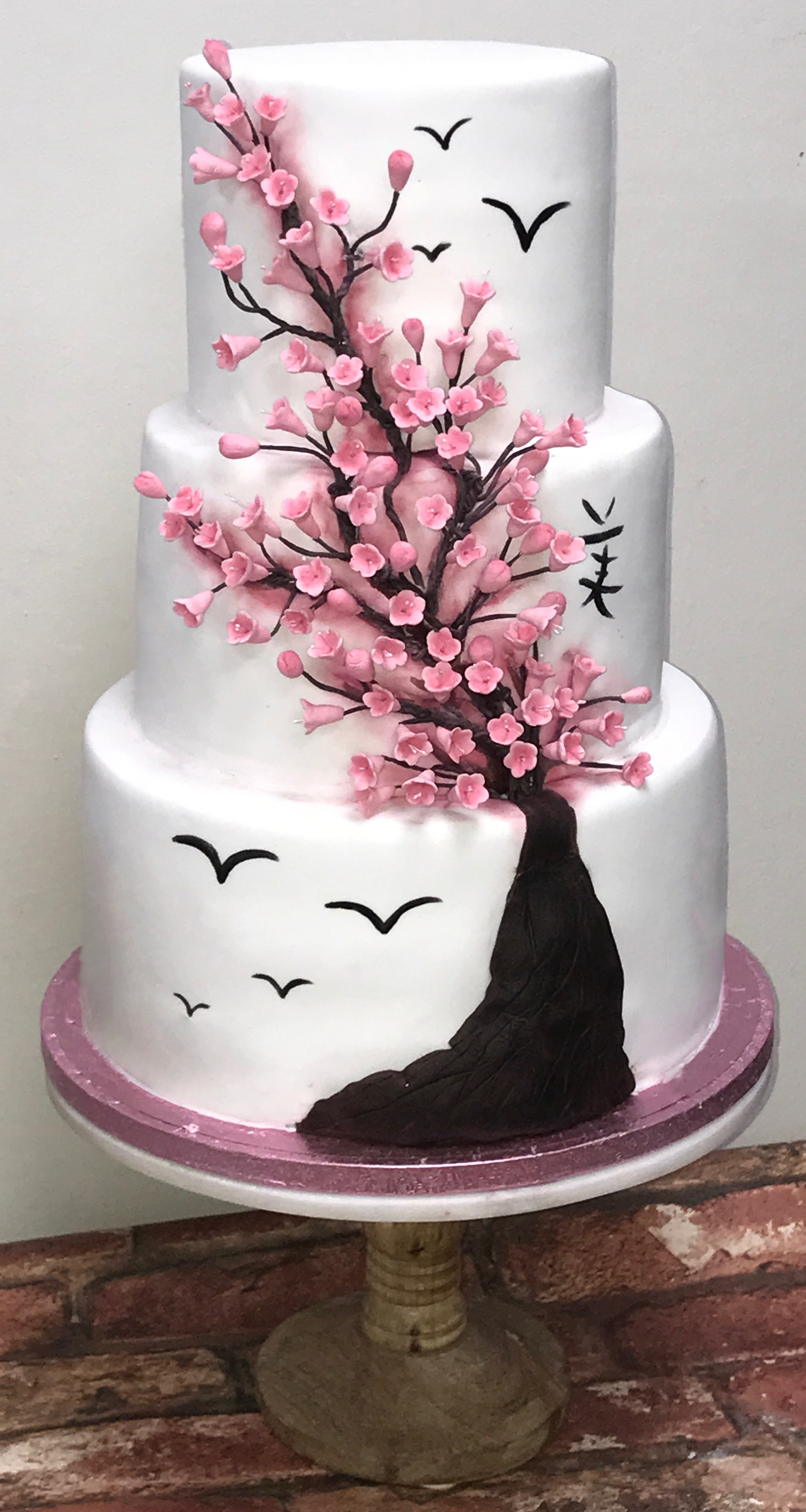 Cherry Blossom Tree Wedding Cake