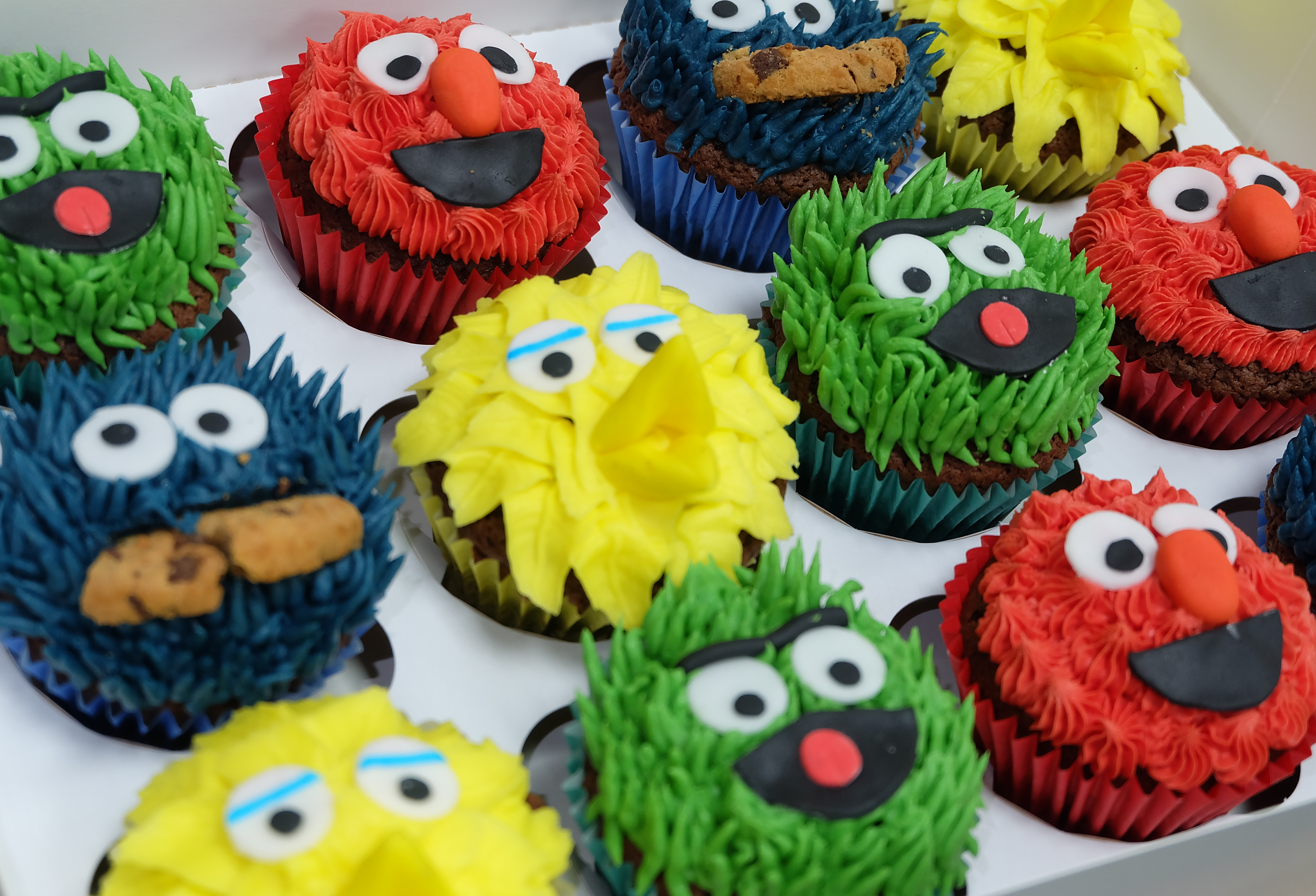 Sesame Street Cupcakes  3
