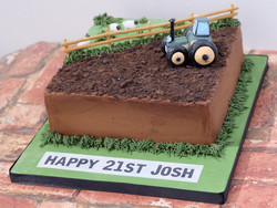 Farm_Tractor Themed Cake
