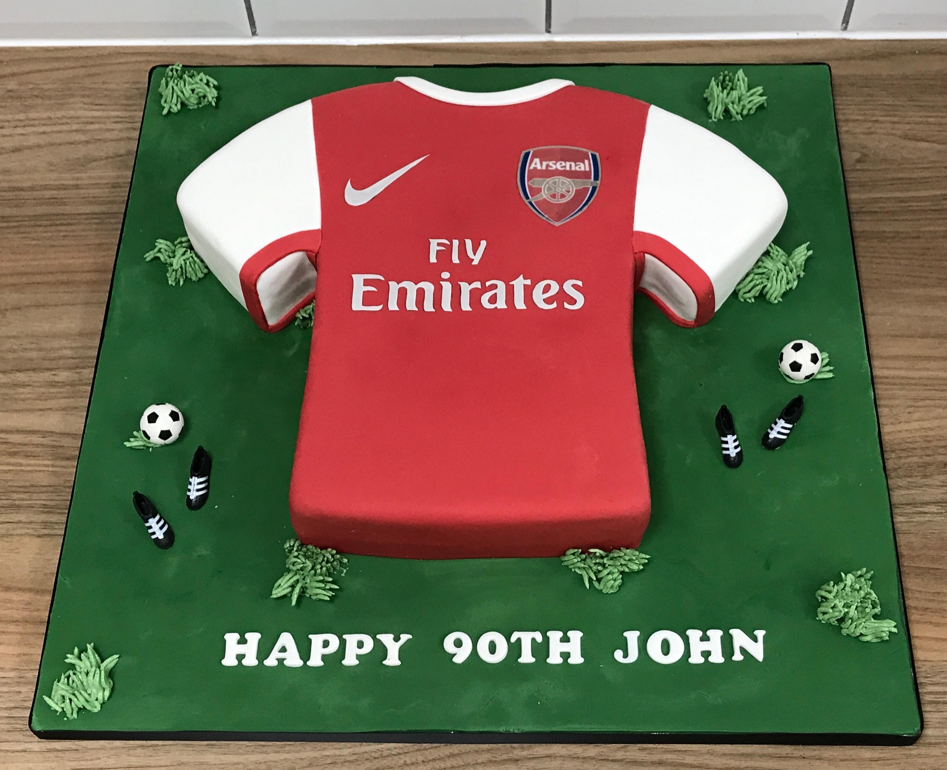 Football Shirt Cake
