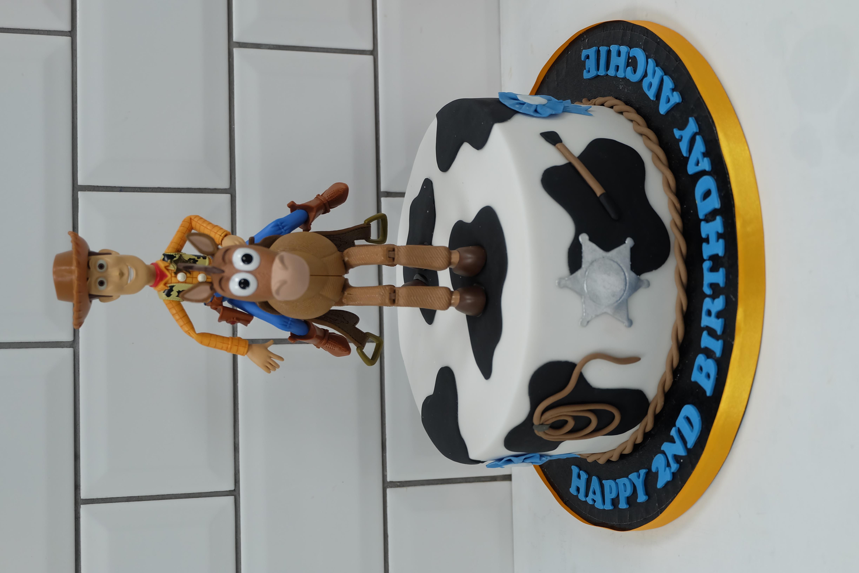 Toy Story Woody Bullseye Cake 3