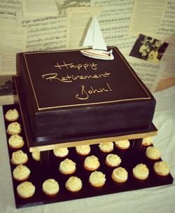 retirement cake 2