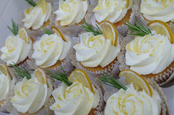 Lemon and Rosemary Cupcakes