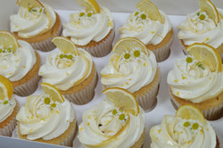 Lemon and Daisy Cupcakes