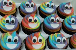 Poo Emoji Cupcakes