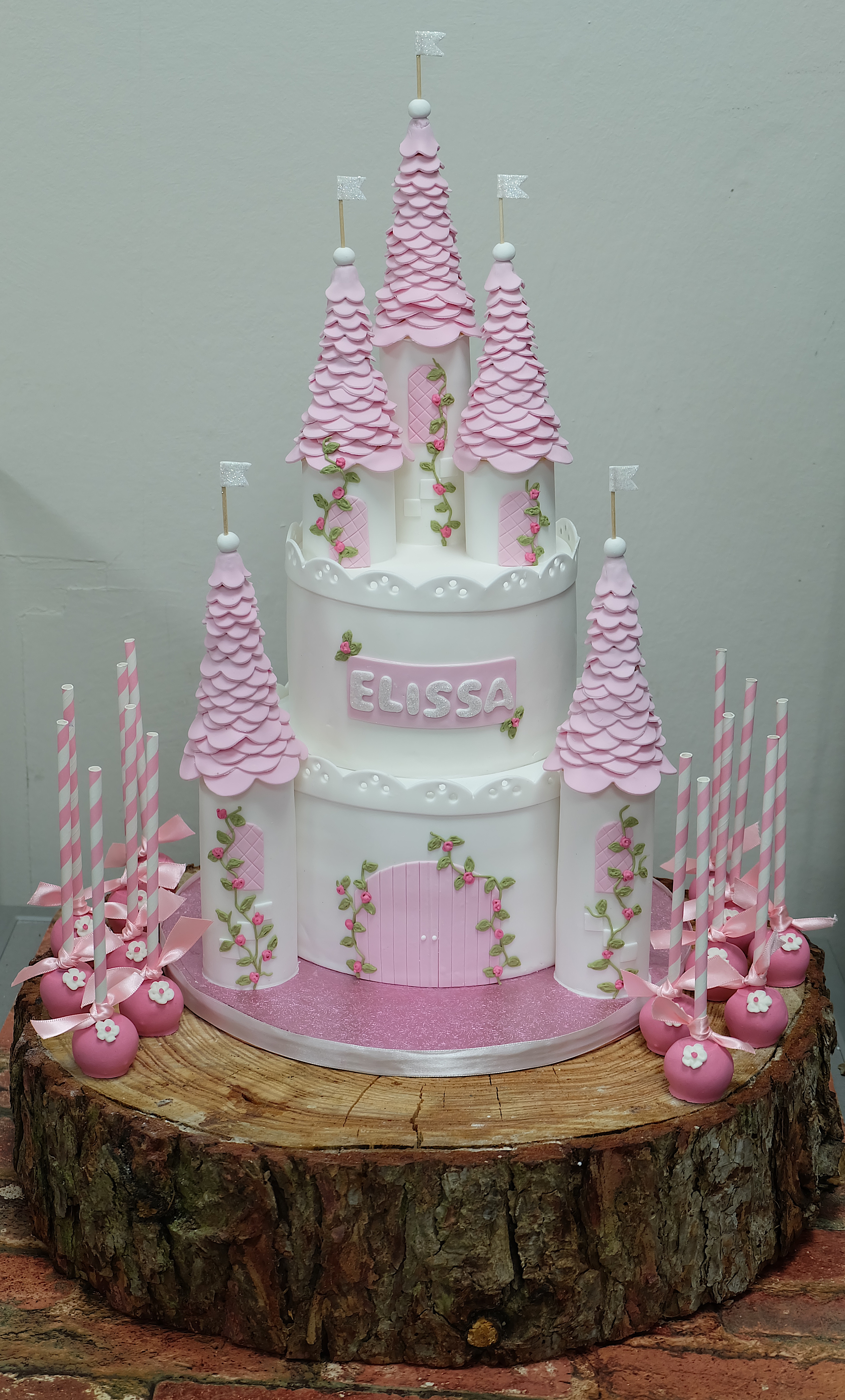 Princess Castle Birthday Cake3