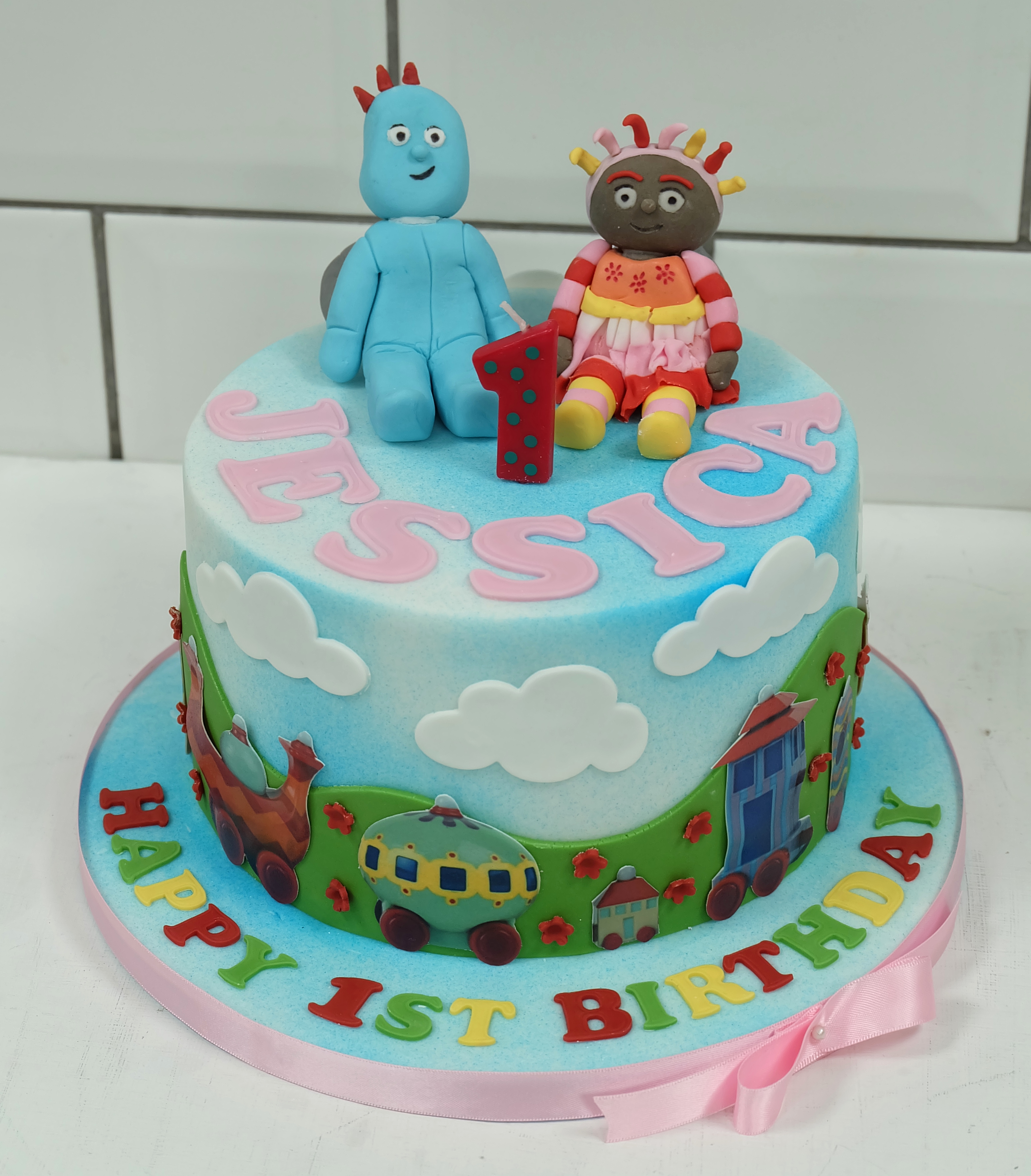 In The Night Garden 1st Birthday Cake