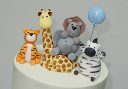 Jungle Animals Topper