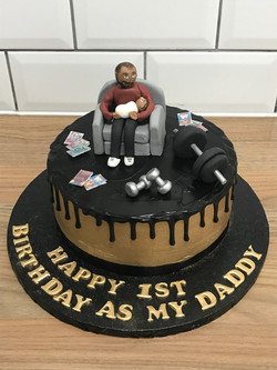 Personalised Bitrhday Cake