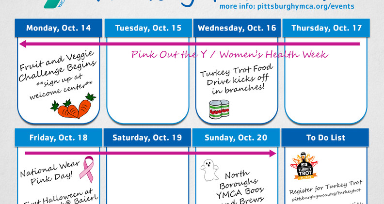 Weekly Planner - Oct. 2019