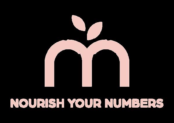 Nourish Your Numbers Logo Primary