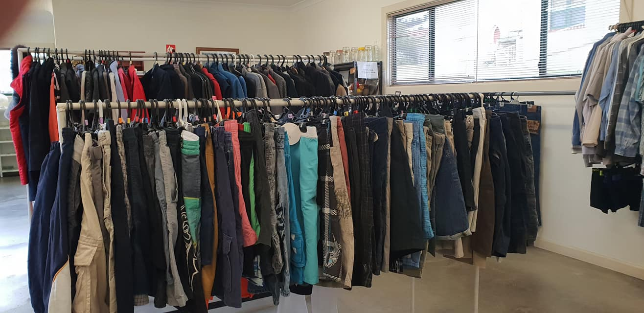 Anglican Op Shop Mens Clothing