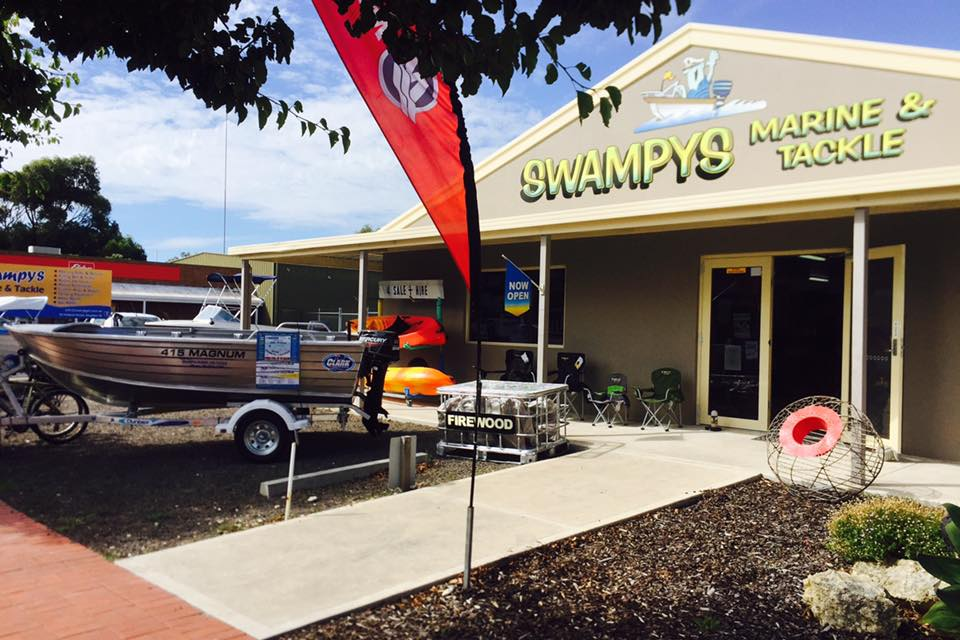 Welcome to Swampys Marine and Tackle