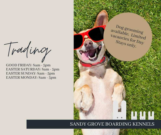 Sandy Grove Boarding Kennels