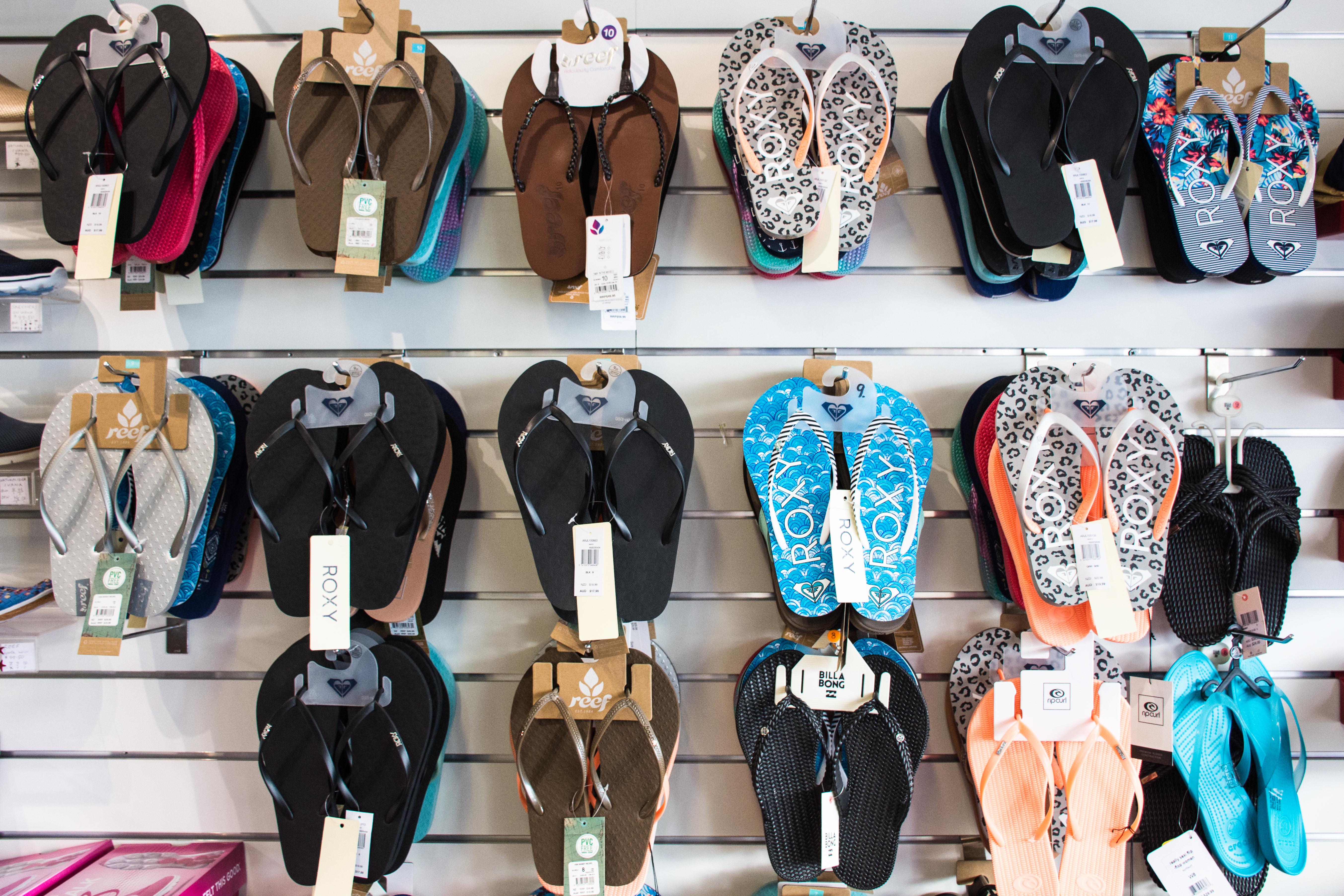 Surfwear & Footwear