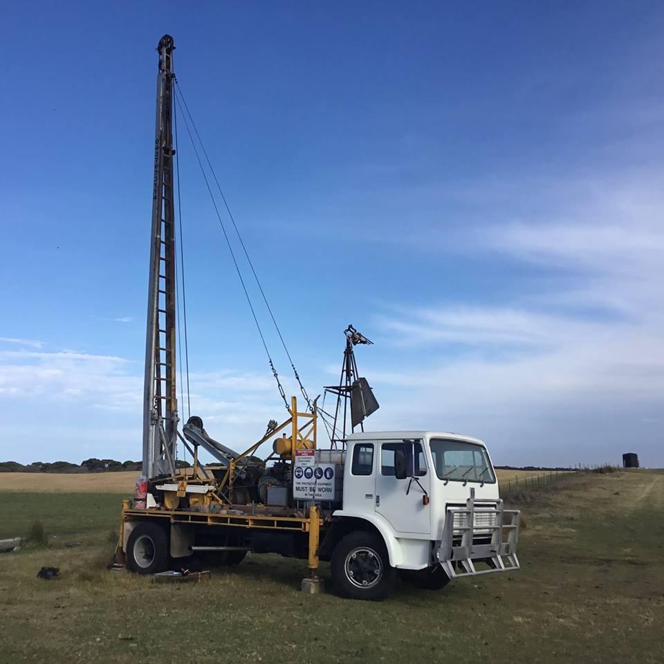 Kingston Water Drilling Truck
