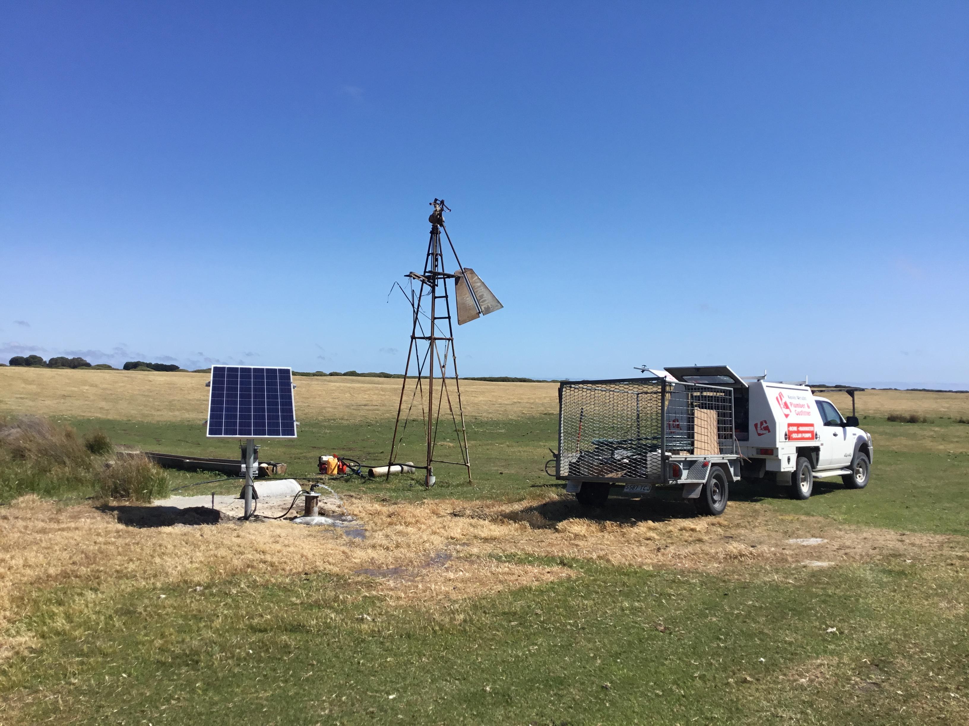 Kingston Water Drilling Solar Pump