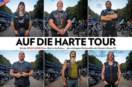 Schweizer Illustrierte, tap to see publications