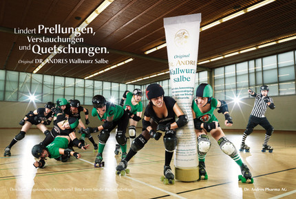 Wallwurz Salbe, tap image to see the campaign and to enlarge