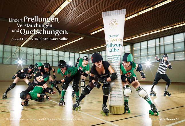 Wallwurz Salbe, ad campaign