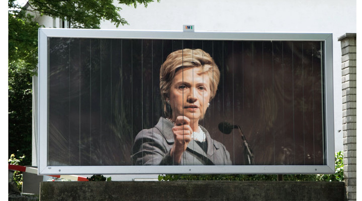 SoZ Rolling Poster Hillary