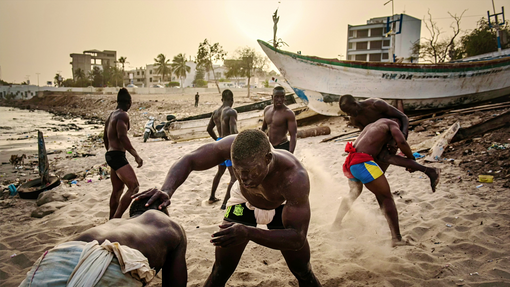 """""""The Gris-Gris Wrestlers of Senegal"""", tap to see publications"""