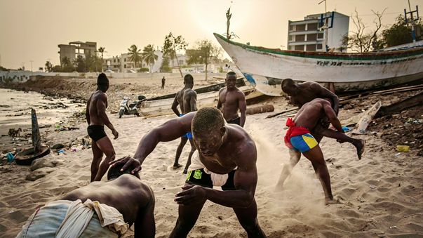 """The Gris-Gris Wrestlers of Senegal"", tap to see publications"