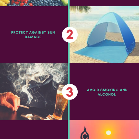5 Steps for a healthy looking skin
